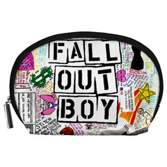 Fall Out Boy Lyric Art Accessory Pouches (large)  by Samandel