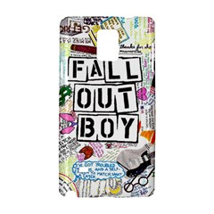 Fall Out Boy Lyric Art Samsung Galaxy Note 4 Hardshell Case
