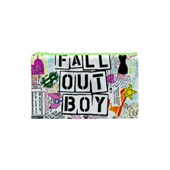 Fall Out Boy Lyric Art Cosmetic Bag (xs) by Samandel