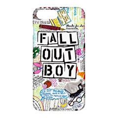 Fall Out Boy Lyric Art Apple Iphone 7 Plus Hardshell Case by Samandel