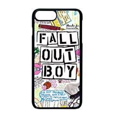 Fall Out Boy Lyric Art Apple Iphone 7 Plus Seamless Case (black) by Samandel