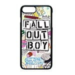 Fall Out Boy Lyric Art Apple iPhone 7 Plus Seamless Case (Black) Front
