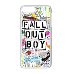 Fall Out Boy Lyric Art Apple Iphone 7 Plus Seamless Case (white) by Samandel