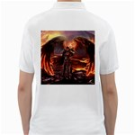 Fantasy Art Fire Heroes Heroes Of Might And Magic Heroes Of Might And Magic Vi Knights Magic Repost Golf Shirts Back