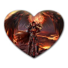 Fantasy Art Fire Heroes Heroes Of Might And Magic Heroes Of Might And Magic Vi Knights Magic Repost Heart Mousepads