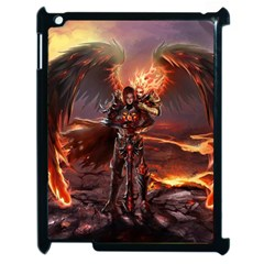 Fantasy Art Fire Heroes Heroes Of Might And Magic Heroes Of Might And Magic Vi Knights Magic Repost Apple Ipad 2 Case (black)