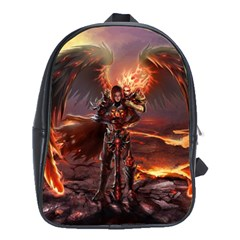 Fantasy Art Fire Heroes Heroes Of Might And Magic Heroes Of Might And Magic Vi Knights Magic Repost School Bag (xl)