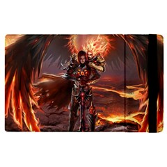 Fantasy Art Fire Heroes Heroes Of Might And Magic Heroes Of Might And Magic Vi Knights Magic Repost Apple Ipad Pro 12 9   Flip Case by Samandel
