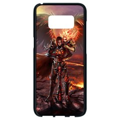 Fantasy Art Fire Heroes Heroes Of Might And Magic Heroes Of Might And Magic Vi Knights Magic Repost Samsung Galaxy S8 Black Seamless Case by Samandel