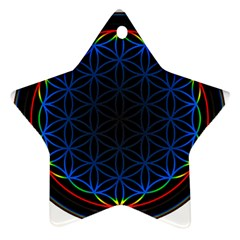 Flower Of Life Ornament (star)