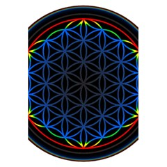Flower Of Life 5 5  X 8 5  Notebooks by Samandel