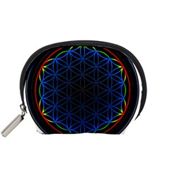Flower Of Life Accessory Pouches (small)  by Samandel