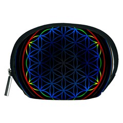 Flower Of Life Accessory Pouches (medium)
