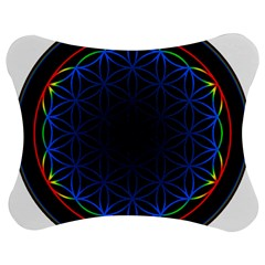 Flower Of Life Jigsaw Puzzle Photo Stand (bow) by Samandel