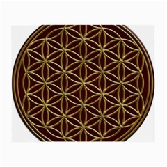 Flower Of Life Small Glasses Cloth (2 Side) by Samandel
