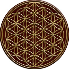 Flower Of Life Magic Photo Cubes