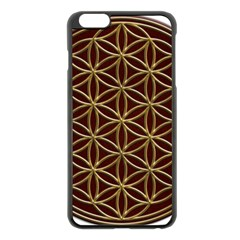 Flower Of Life Apple Iphone 6 Plus/6s Plus Black Enamel Case