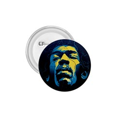 Gabz Jimi Hendrix Voodoo Child Poster Release From Dark Hall Mansion 1 75  Buttons by Samandel