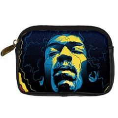Gabz Jimi Hendrix Voodoo Child Poster Release From Dark Hall Mansion Digital Camera Cases by Samandel
