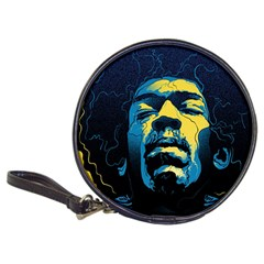 Gabz Jimi Hendrix Voodoo Child Poster Release From Dark Hall Mansion Classic 20 Cd Wallets by Samandel