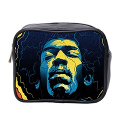 Gabz Jimi Hendrix Voodoo Child Poster Release From Dark Hall Mansion Mini Toiletries Bag 2 Side by Samandel
