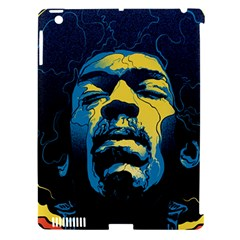 Gabz Jimi Hendrix Voodoo Child Poster Release From Dark Hall Mansion Apple Ipad 3/4 Hardshell Case (compatible With Smart Cover) by Samandel