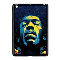 Gabz Jimi Hendrix Voodoo Child Poster Release From Dark Hall Mansion Apple Ipad Mini Case (black) by Samandel
