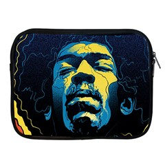 Gabz Jimi Hendrix Voodoo Child Poster Release From Dark Hall Mansion Apple Ipad 2/3/4 Zipper Cases by Samandel