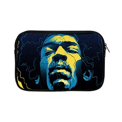 Gabz Jimi Hendrix Voodoo Child Poster Release From Dark Hall Mansion Apple Ipad Mini Zipper Cases by Samandel