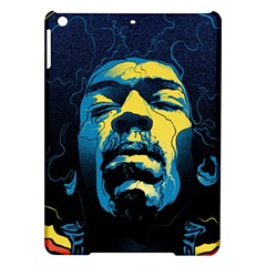 Gabz Jimi Hendrix Voodoo Child Poster Release From Dark Hall Mansion Ipad Air Hardshell Cases by Samandel