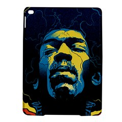 Gabz Jimi Hendrix Voodoo Child Poster Release From Dark Hall Mansion Ipad Air 2 Hardshell Cases by Samandel