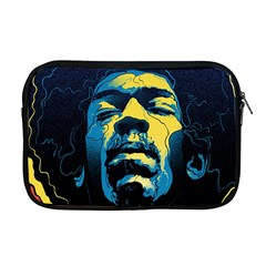 Gabz Jimi Hendrix Voodoo Child Poster Release From Dark Hall Mansion Apple Macbook Pro 17  Zipper Case by Samandel