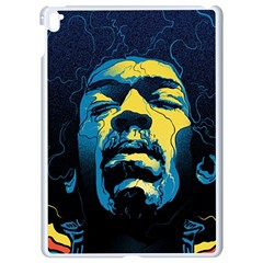 Gabz Jimi Hendrix Voodoo Child Poster Release From Dark Hall Mansion Apple Ipad Pro 9 7   White Seamless Case by Samandel