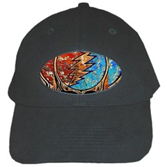 Grateful Dead Rock Band Black Cap