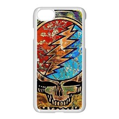 Grateful Dead Rock Band Apple Iphone 8 Seamless Case (white) by Samandel
