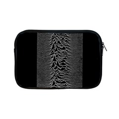 Grayscale Joy Division Graph Unknown Pleasures Apple Ipad Mini Zipper Cases by Samandel