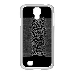 Grayscale Joy Division Graph Unknown Pleasures Samsung Galaxy S4 I9500/ I9505 Case (white) by Samandel