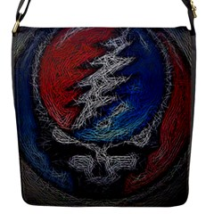 Grateful Dead Logo Flap Messenger Bag (s)