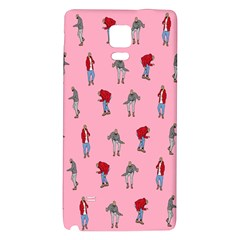Hotline Bling Pattern Galaxy Note 4 Back Case by Samandel