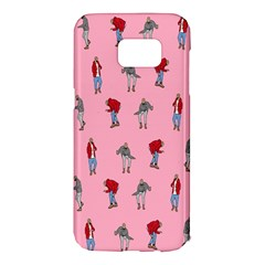 Hotline Bling Pattern Samsung Galaxy S7 Edge Hardshell Case