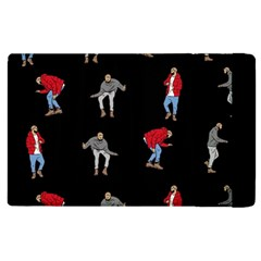 Hotline Bling Black Background Apple Ipad 2 Flip Case