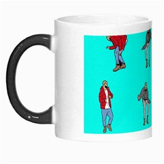 Hotline Bling Blue Background Morph Mugs by Samandel