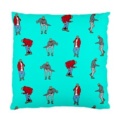 Hotline Bling Blue Background Standard Cushion Case (one Side) by Samandel