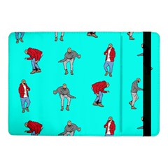Hotline Bling Blue Background Samsung Galaxy Tab Pro 10 1  Flip Case by Samandel