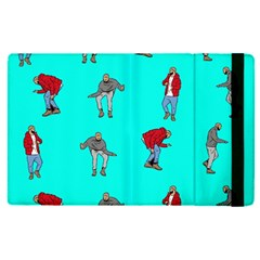 Hotline Bling Blue Background Apple Ipad Pro 12 9   Flip Case by Samandel