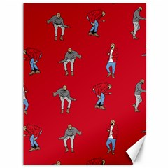Hotline Bling Red Background Canvas 36  X 48