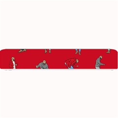 Hotline Bling Red Background Small Bar Mats by Samandel
