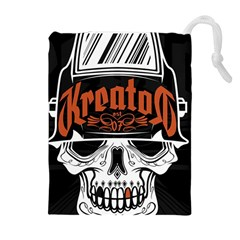 Kreator Thrash Metal Heavy Hard Rock Skull Skulls Drawstring Pouches (extra Large)