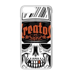 Kreator Thrash Metal Heavy Hard Rock Skull Skulls Apple Iphone 7 Plus Seamless Case (white)