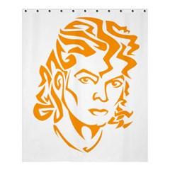 The King Of Pop Shower Curtain 60  X 72  (medium)